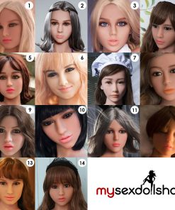 Extra loose head for Topdoll sexdoll 2 for 1 action sex doll free shipping europe